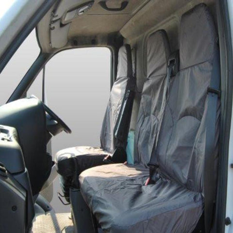 LDV Maxus Fully Tailored Waterproof Front Single and Double Set Seat Covers 2004 - 2014 Heavy Duty Right Hand Drive Grey- INK-WSC-6502