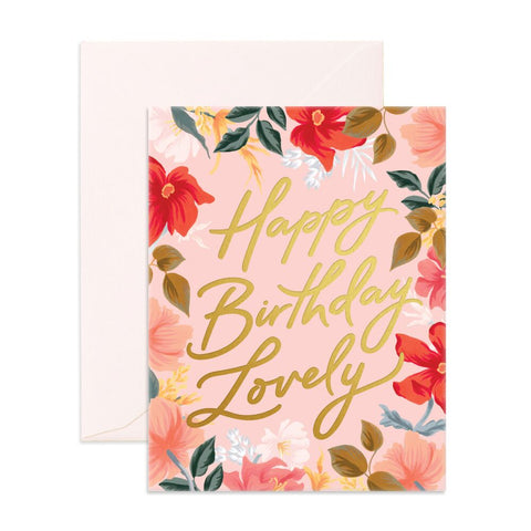 Fox & Fallow Happy Birthday Lovely Card