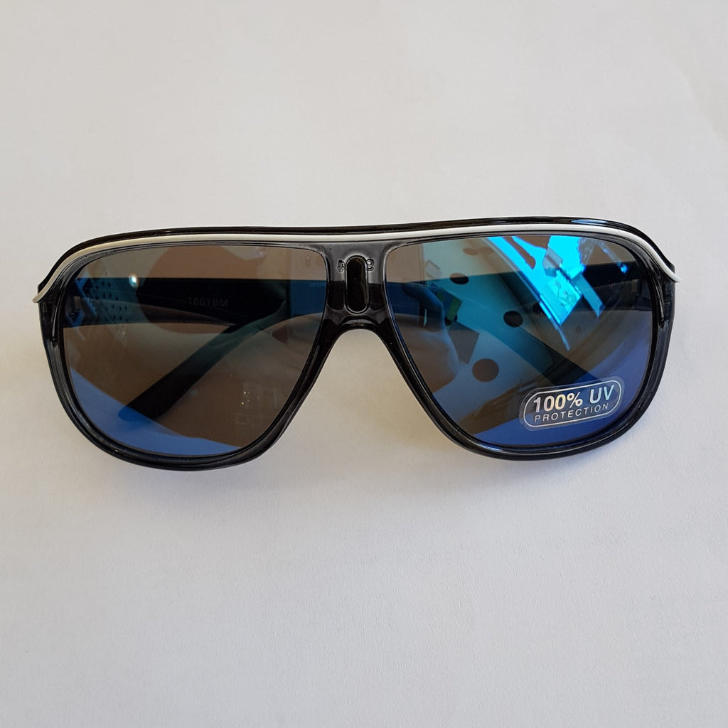 Unity Kids' Black Stripe Sunglasses