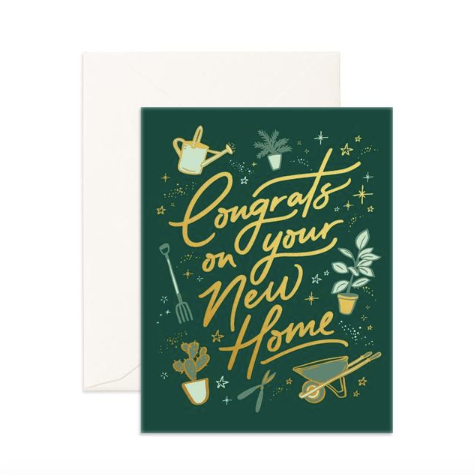 Fox & Fallow Congrats on Your New Home Card
