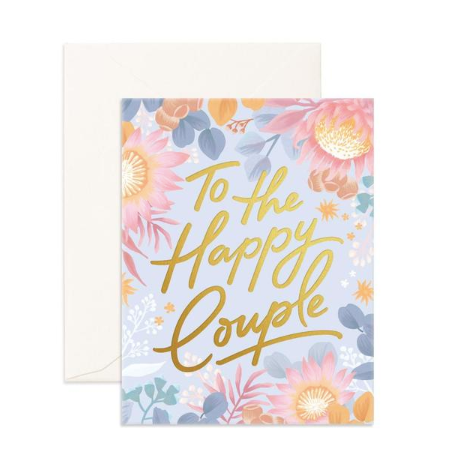 Fox & Fallow Happy Couple Card