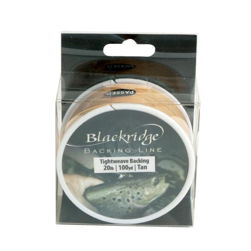 Blackridge 20lb Fly Line Backing Braids-Blackridge-Brodies Angling & Outdoors