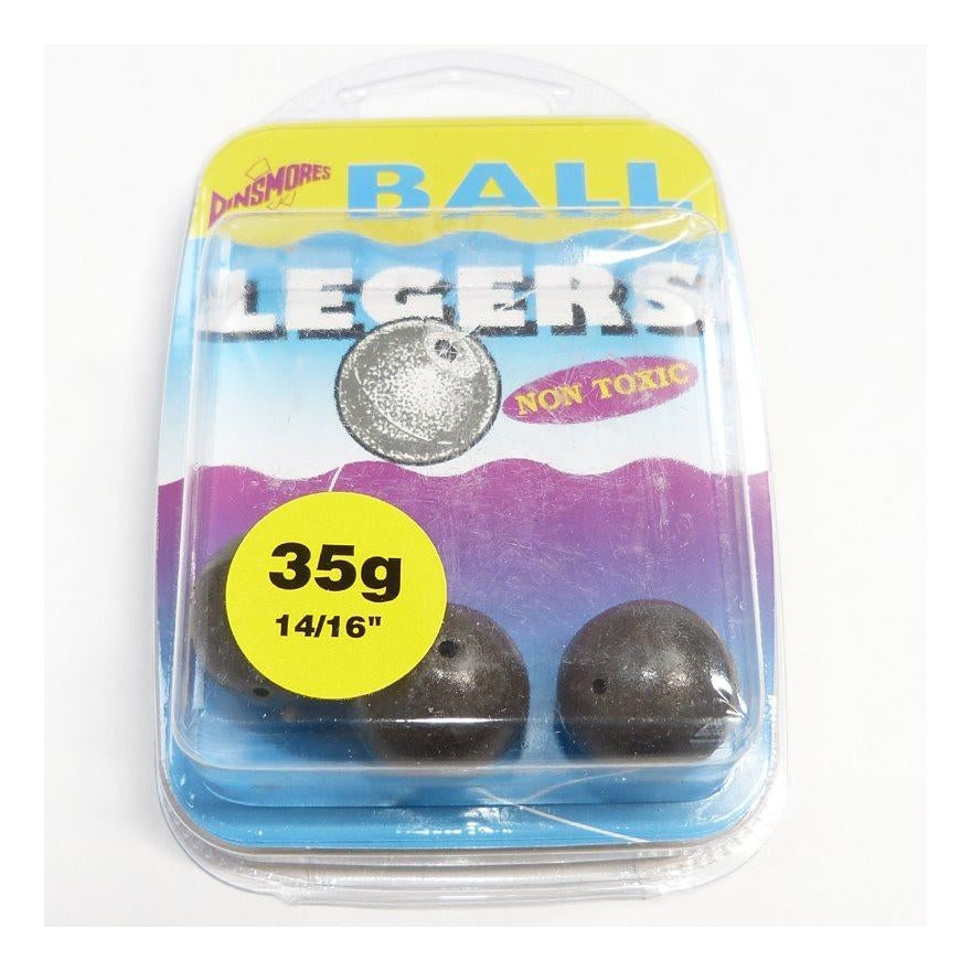 Dinsmores Camo Coated Ball Legers-Dinsmores-Brodies Angling & Outdoors