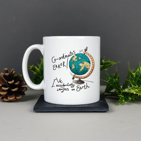 Personalised Coordinates Home Planet Mug Gift - Afewhometruths