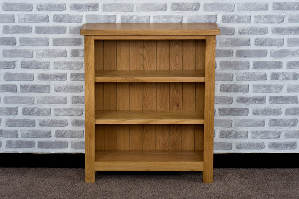 Duddon Oak Low Bookcase - The Sofa Group