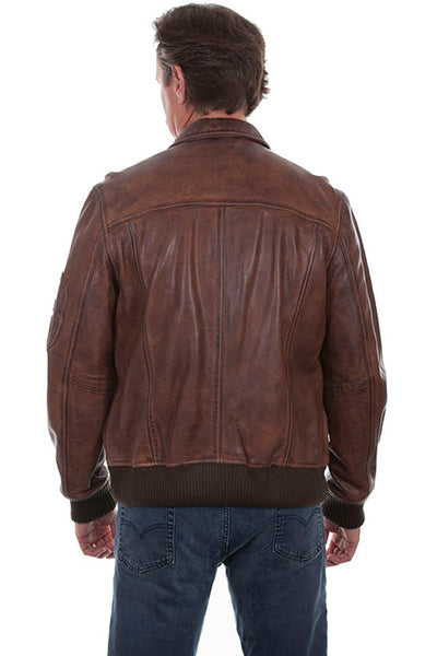 Men's Leather Jacket Collection: Scully Featherlite Lamb