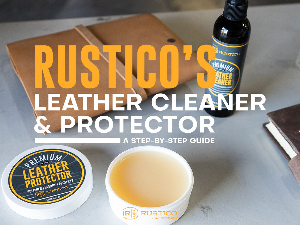 Rustico's Leather Cleaner and Protector