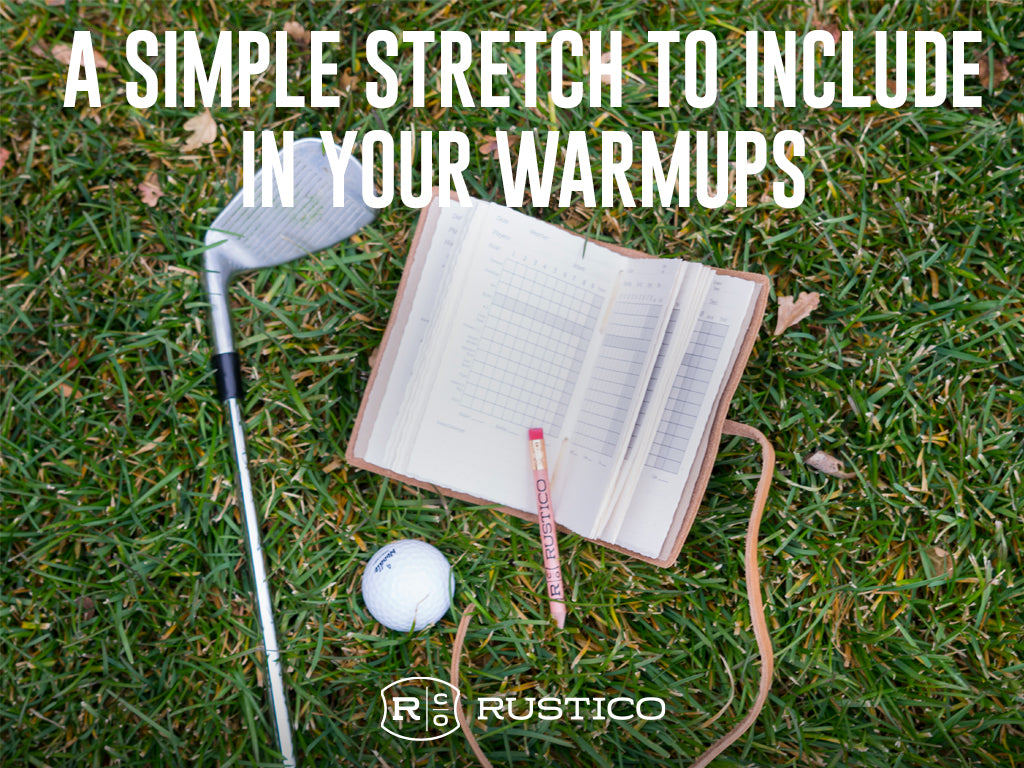Include this stretch before your next game of golf