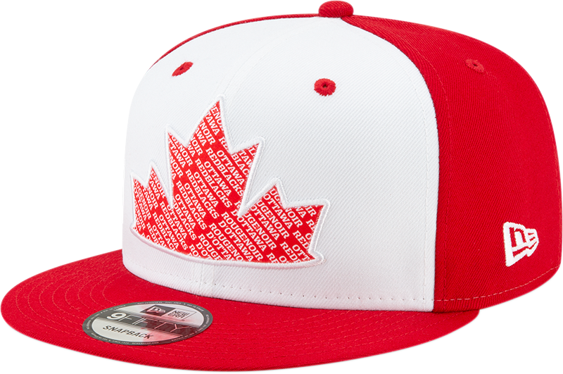 New Era 9Fifty REDBLACKS Canada Day Snapback