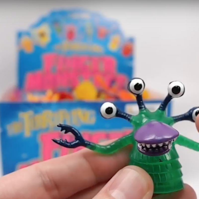 Bulk Finger Monsters Unboxing Video