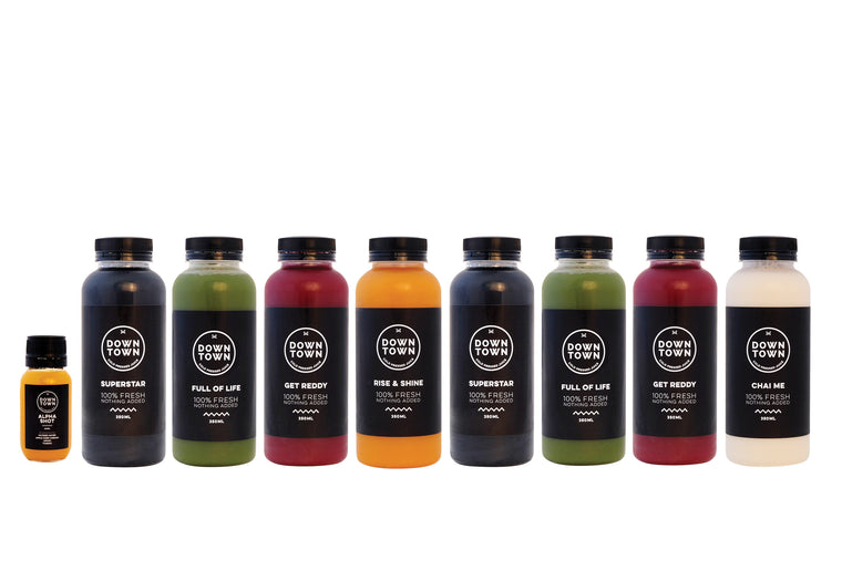 'DEEP DETOX' JUICE CLEANSE