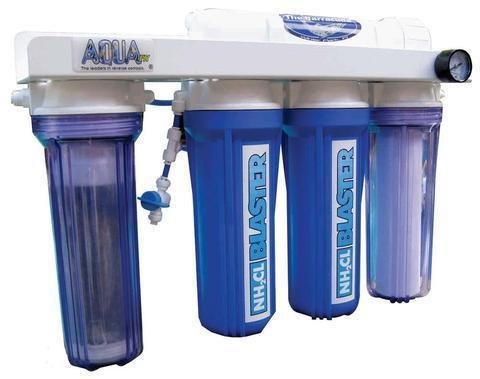 RO/DI Unit - AquaFX Barracuda Chloramines Blaster RO/DI System 50-300 GPD