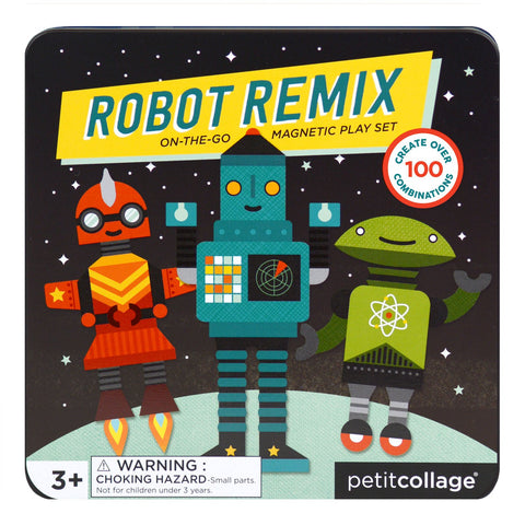 Robot Remix Mix and Match