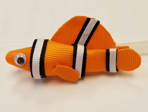 Nemo Hair Clip - Hairbow Heaven of Bossier City