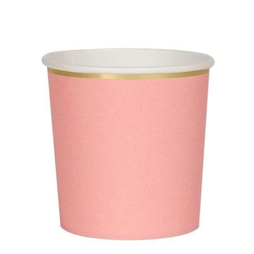 Coral Tumbler Cups