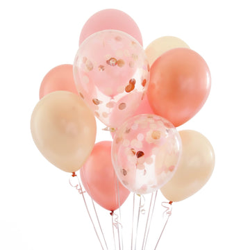 Rose Gold Balloon Bundle