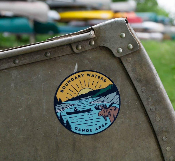 Boundary Waters Canoe Area Sticker, Sticker - Humble Apparel Co