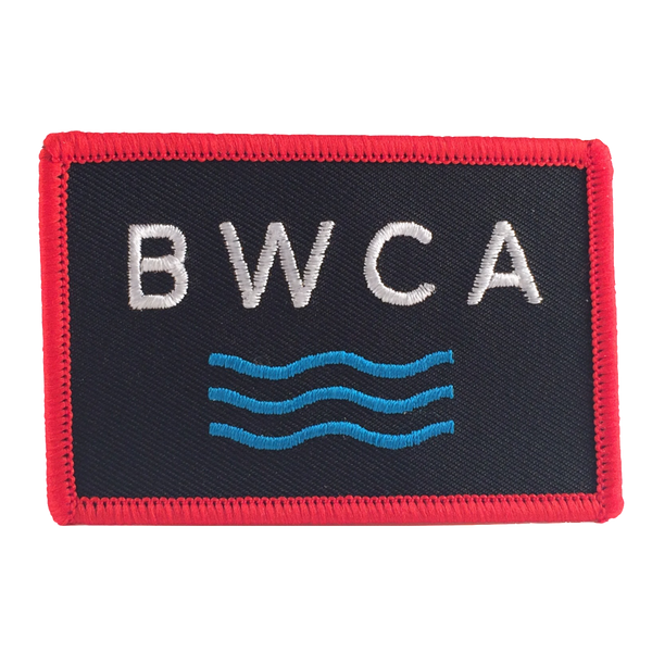 BWCA Waves Embroidered Patch (2 in x 3 in)