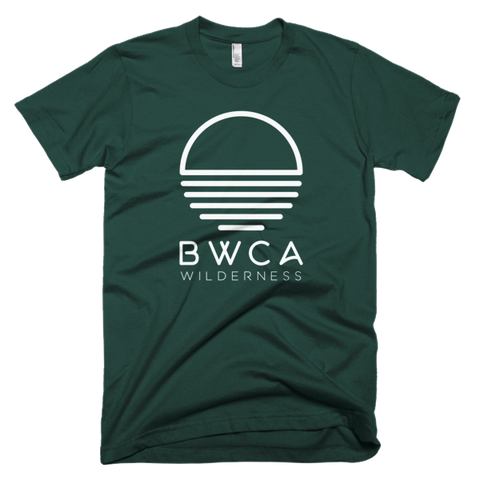 BWCA Wilderness Sunset T-Shirt - Forest Green