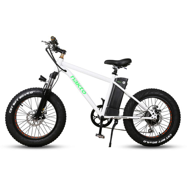 Nakto 20'' Mini Cruiser Fat Tire Electric Bike