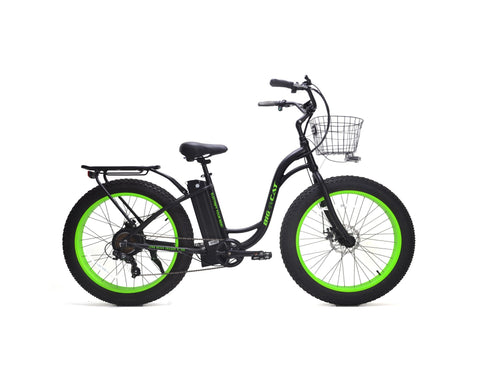 2019 BIG CAT® Long Beach Cruiser XL 500 Electric Fat Bike