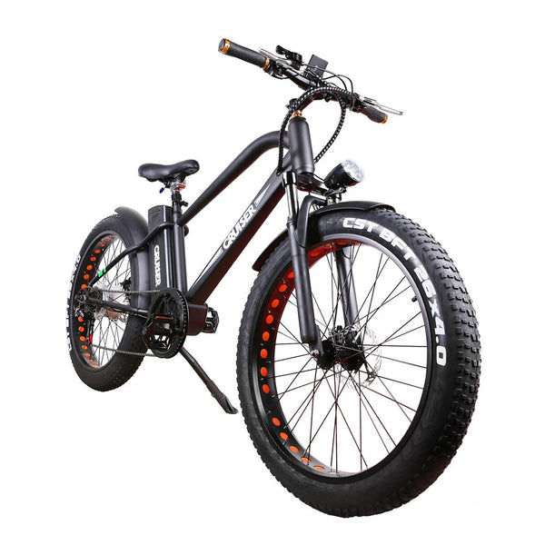Nakto 26'' 500W Super Cruiser Fat Tire Electric Bike