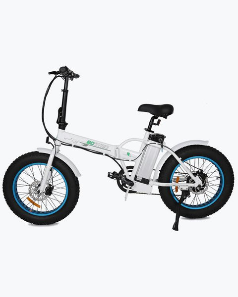 Ecotric 36V 350W Portable Folding Fat Tire Electric Bike
