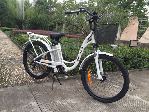 Big Cat Long Beach Cruiser 500W Electric Bike
