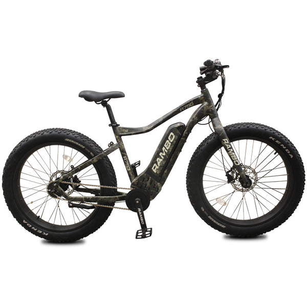 2019 Rambo R750 G4 Camo Fat Tire Electric Bike