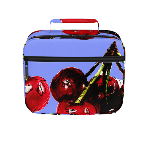 Cherry Time Blue - Lunch Box