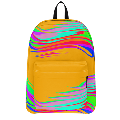 Color Waves Orange - Classic Backpack