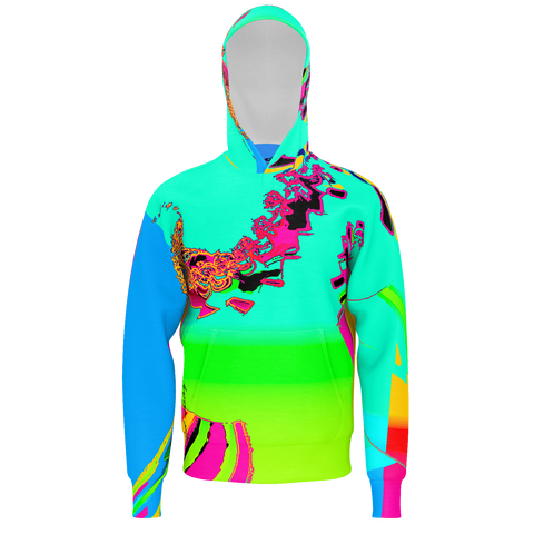 Color Harmony - Mens Pullover Hoodie
