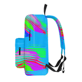 Color Waves Blue - Classic Backpack