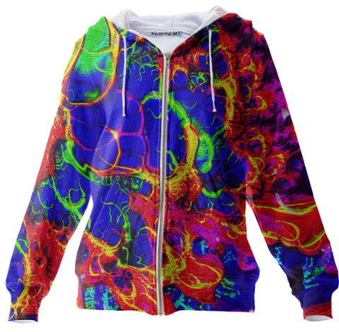 Color Fusion Z - Zip Up Hoodie