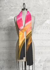 Color Swirl Magic - Modal Scarf