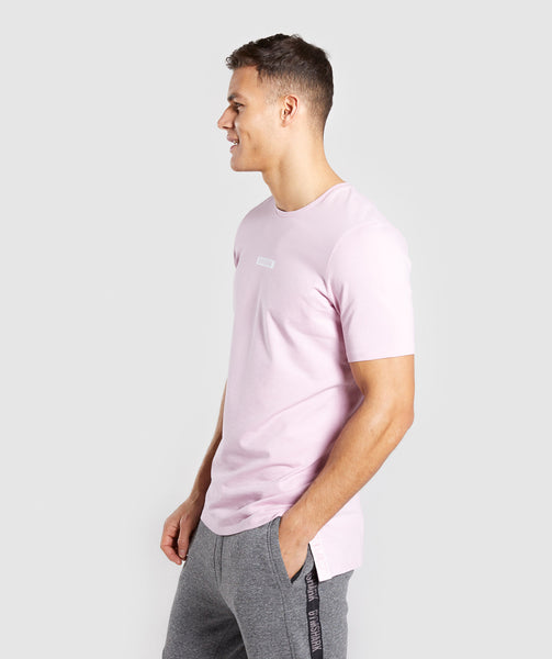 Gymshark Central T-Shirt - Light Pink 2
