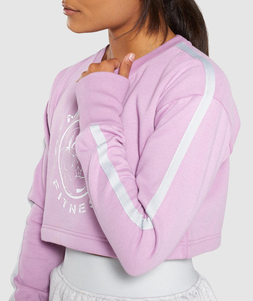 Gymshark Legacy Fitness Sweater - Pink 3