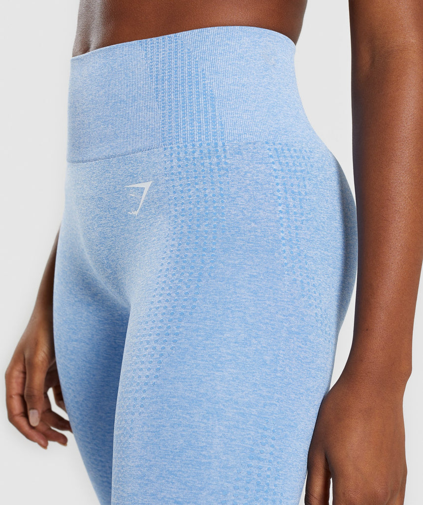 Gymshark Vital Seamless Leggings - Blue 5