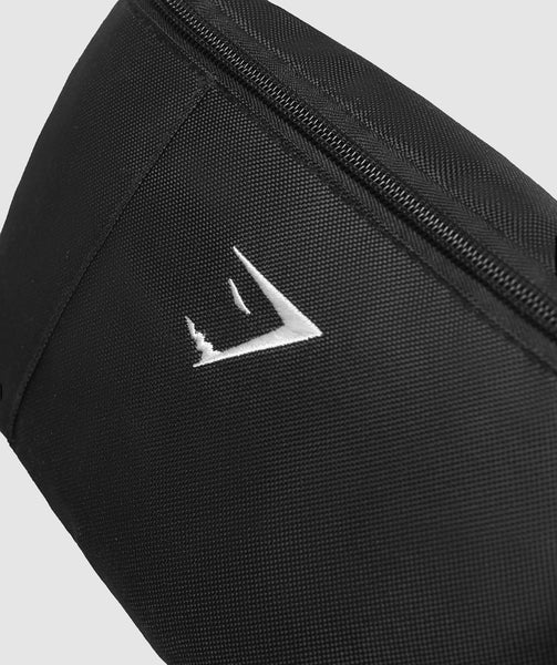 Gymshark Mens Sling Bag - Black 2