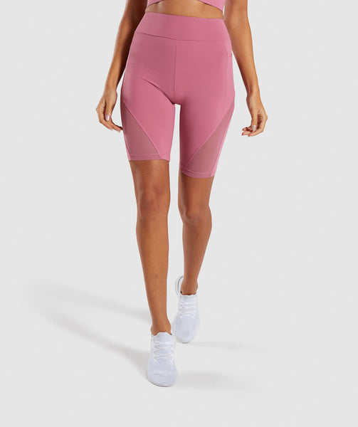 Gymshark Elevate Cycling Short - Dusky Pink 4