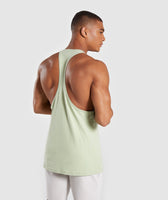 Gymshark Legacy Stringer - Light Green 8