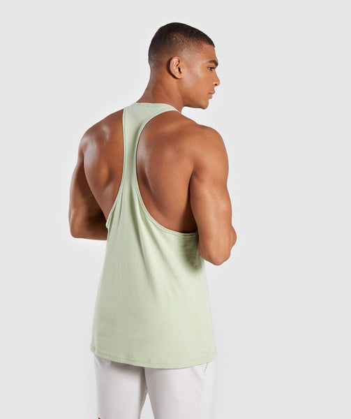 Gymshark Legacy Stringer - Light Green 4