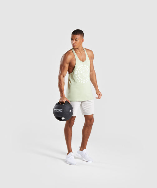 Gymshark Legacy Stringer - Light Green 2