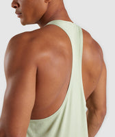 Gymshark Legacy Stringer - Light Green 11