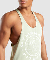 Gymshark Legacy Stringer - Light Green 12