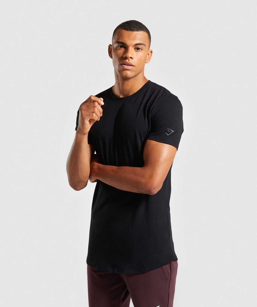 Gymshark Living T-Shirt - Black 4
