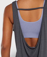 Gymshark Power Down Vest - Charcoal Marl 11