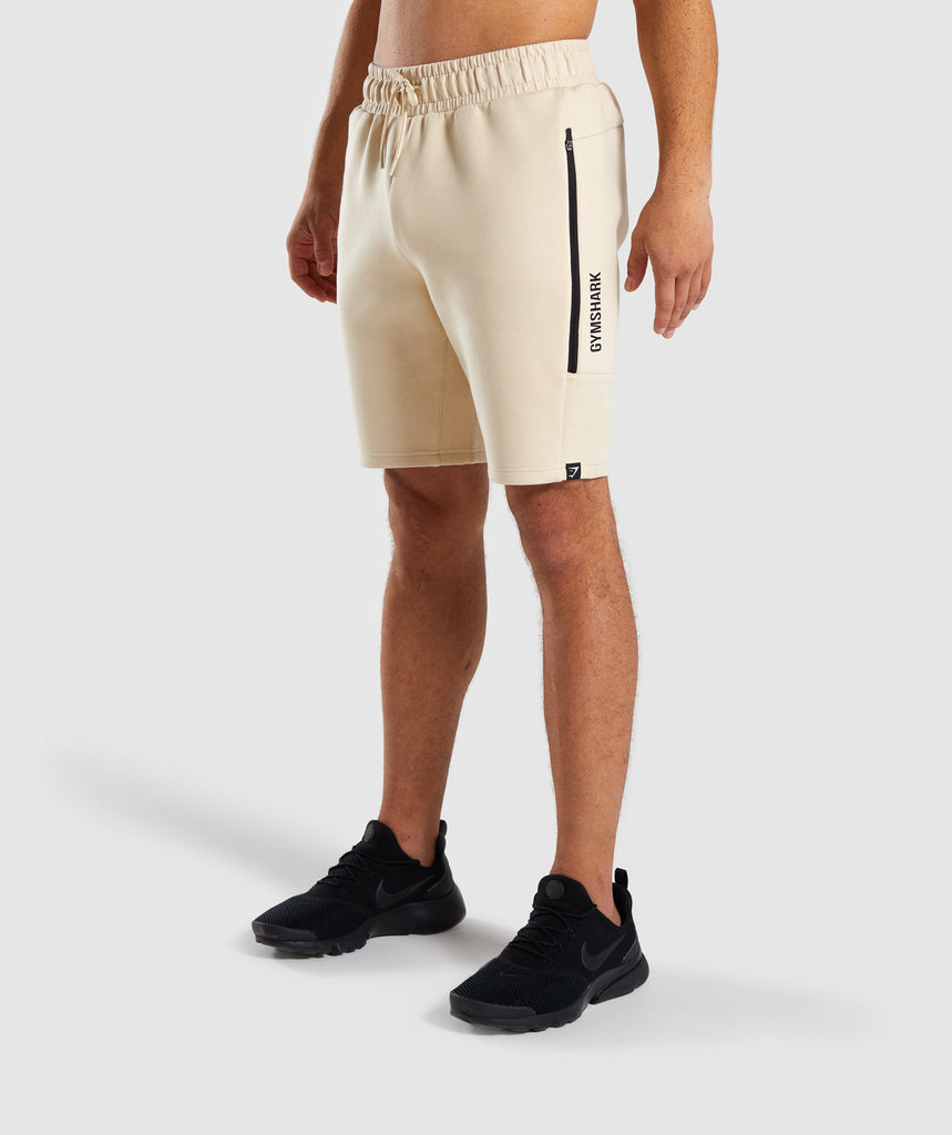 Gymshark Ultra Shorts - Warm Beige 1