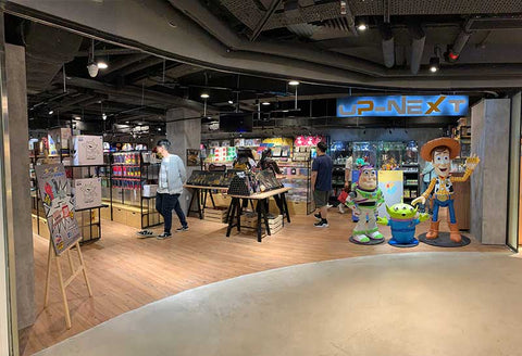 UP-NEXT HK Mong Kok Cartoon Collectibles & GIft Toy Store