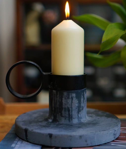 MENU 'Weight Here' Candle Holder